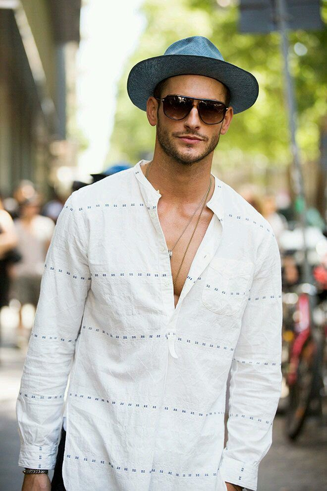 MenStyle1- Men's Style Blog - Men's Hats Inspiration. FOLLOW : Guidomaggi Shoes...
