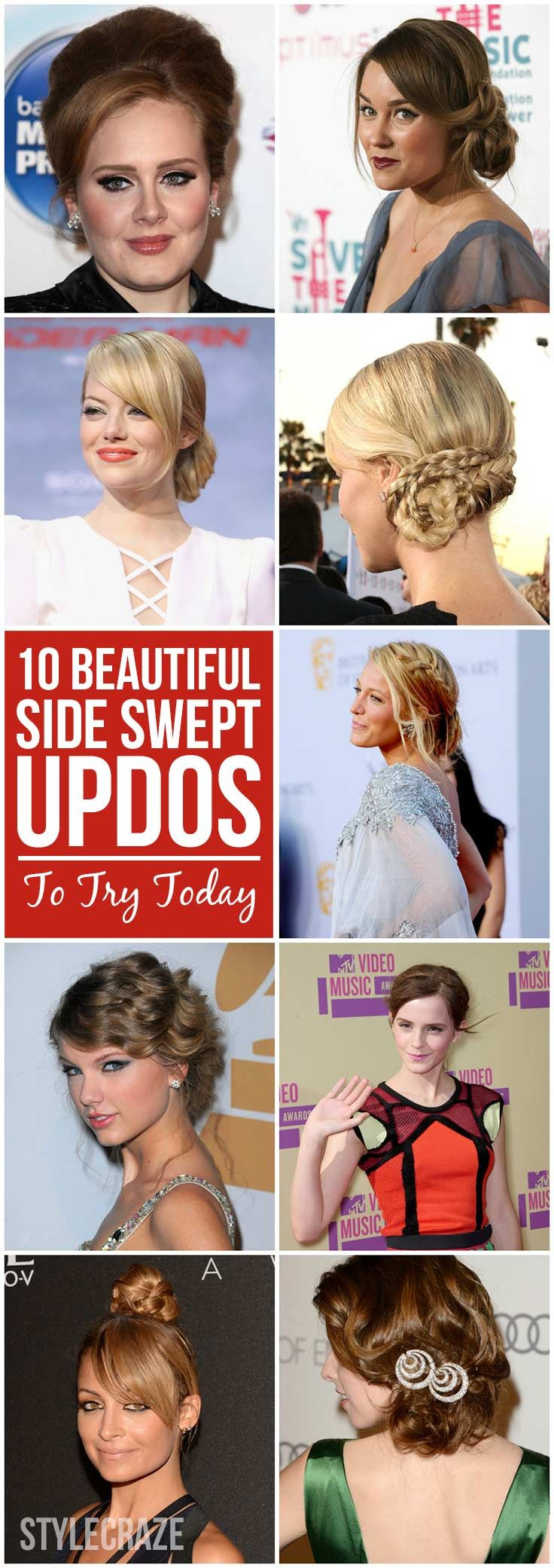69 best celebrity hairstyles images on pinterest | celebrity