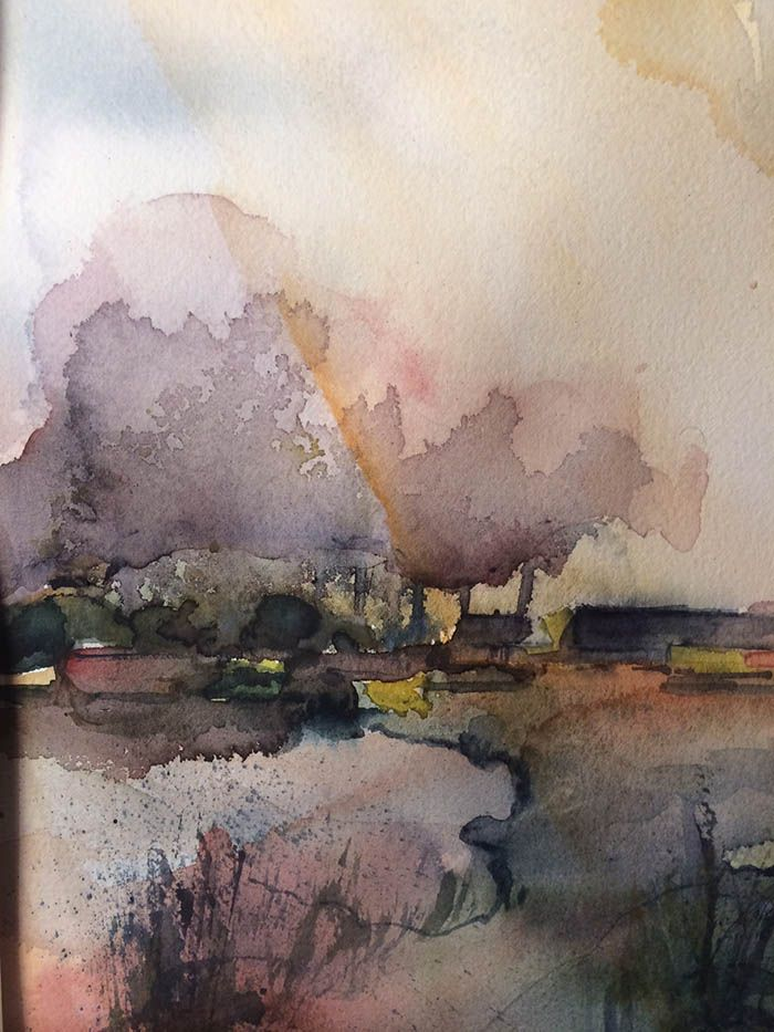 Pin By Ilemas On Aquarelle Watercolor Paintings