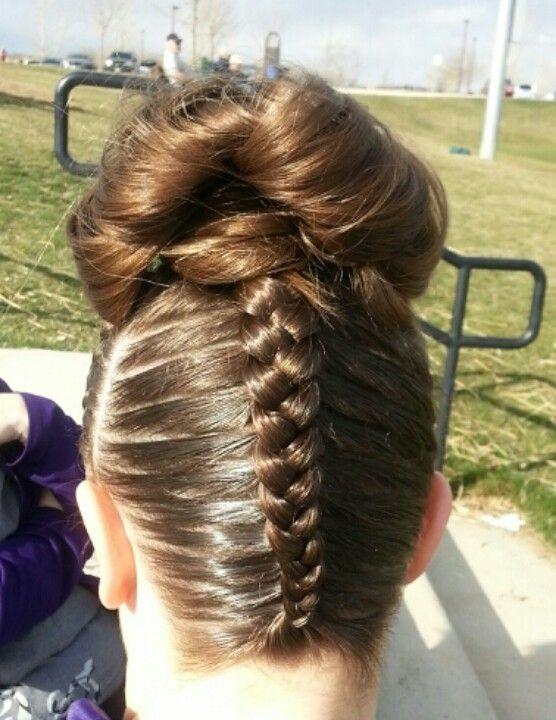 1000 ideas about gymnastics hair on pinterest