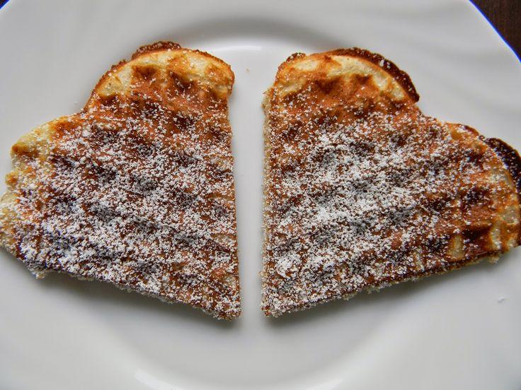 Kuchnia bez glutenu: Gofry gryczane (bezglutenowe)