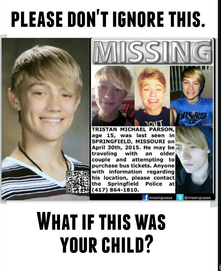 If anybody have seen this boy, please make a call