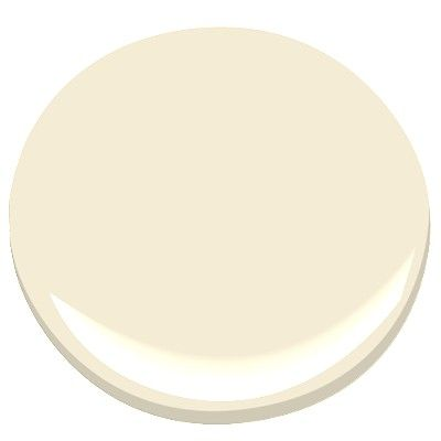 Benjamin Moore Woodmont Cream-a pale neutral that makes rooms look brighter and more airy even in small rooms that lack natural light