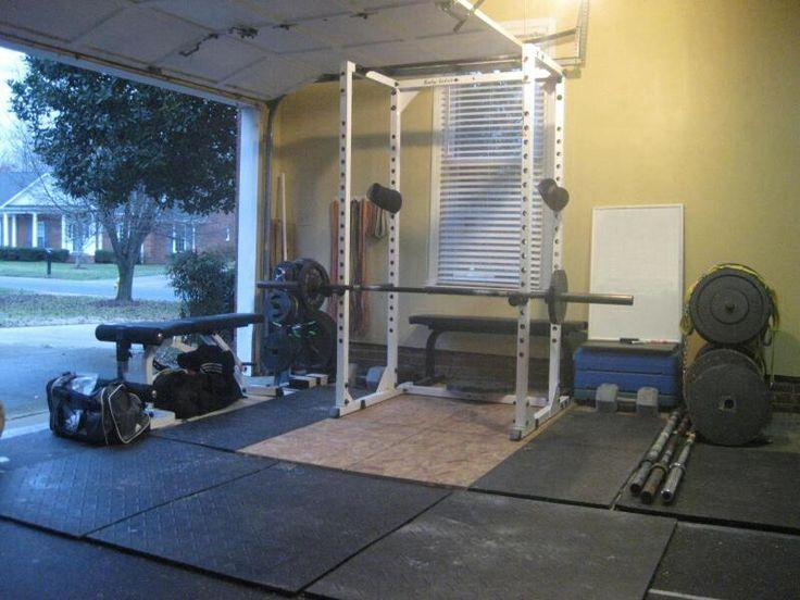 Best garage gym images on pinterest