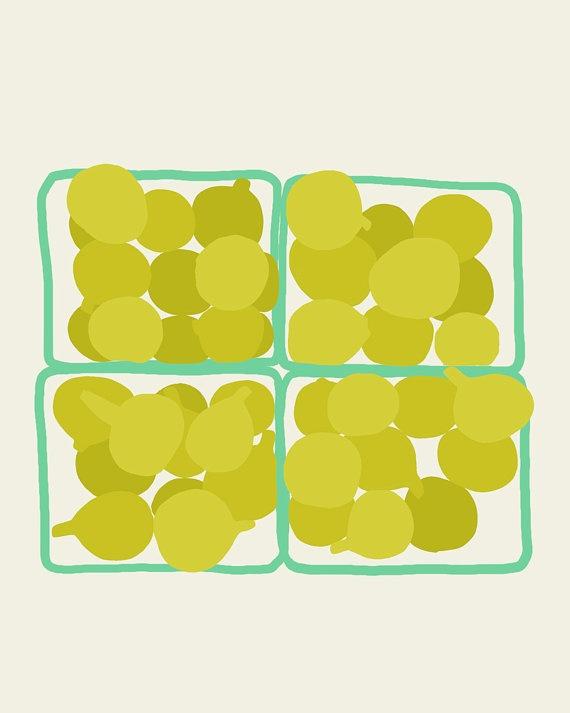 Fine Art Print  Yellow Figs