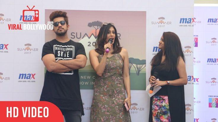 Kishwar Merchant Full Speech MAX Summer 17 Collection Launch