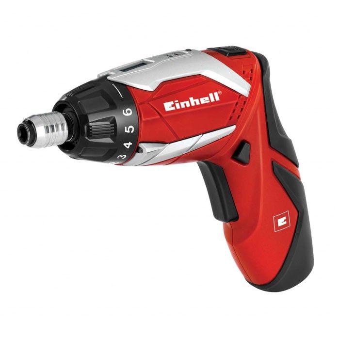 Einhell SD 3.6Li Cordless Screwdriver Red - A great little Power Tool! #DIY