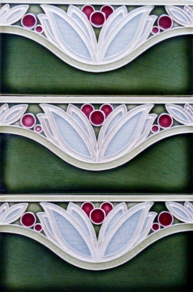 1030 best tiles art images on pinterest art nouveau tiles tile 3 border t dailygadgetfo Images