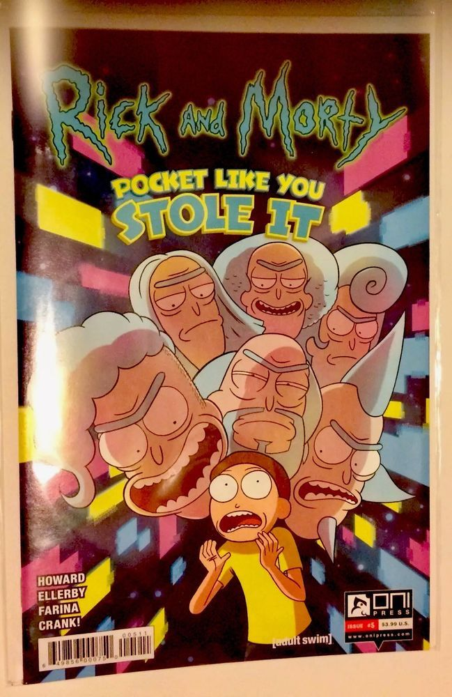 SAME DAY SHIP! Rick and Morty #5 ( 2017, Oni Press) NEW MINT CONDITION IN HAND