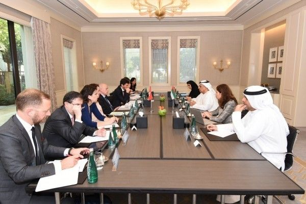 Obaid Al Tayer meets Vice President and Finance Minister of Switzerland.  #UAE #Switzerland #ObaidAlTayer #meeting #VicePresident #FinanceMinister #strategicpartnership #tradeexchange Image & Post Courtesy: http://wam.ae/en/details/1395302668843