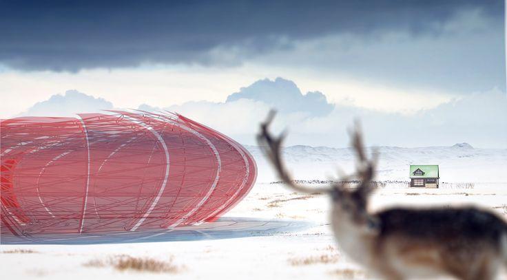 Iceland Pavilion Concept by Erik Fukino