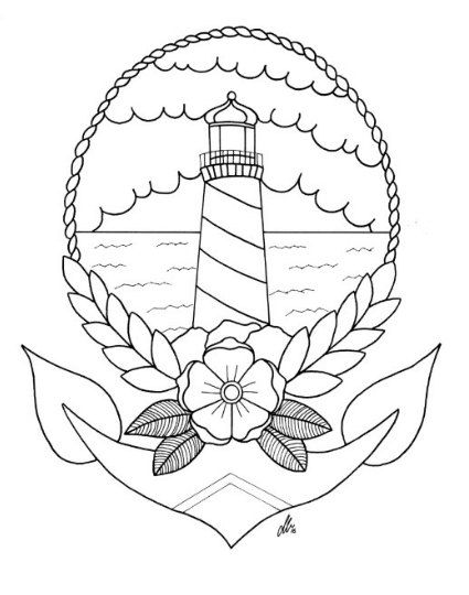 25 best Lighthouse tattoos ideas on Pinterest Nautical drawing