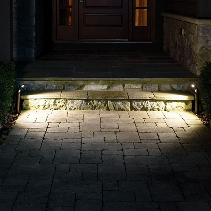 Mr Beams® UltraBright Outdoor LED Path Lights MB592, Set of 2 (Dark Brown)