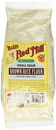 Bob's Red Mill Organic Brown Rice Flour - 24 oz * More discounts at the link of image: at baking desserts recipes.