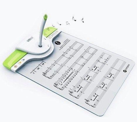 Устройство, записывающее то, что вы напеваете, и выдающее это в виде нот, и наоборот - вы записываете, устройство воспроизводит