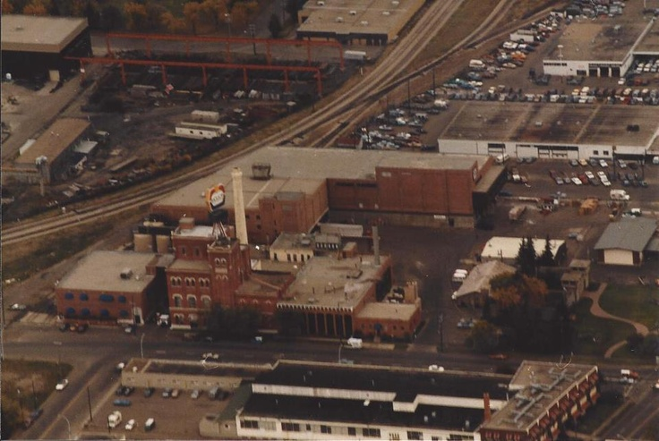 Molson Brewery 104 Ave./121 St. Mid 1980's Image Courtesy of Vintage Edmonton https://www.facebook.com/TheVintageEdmonton?fref=ts