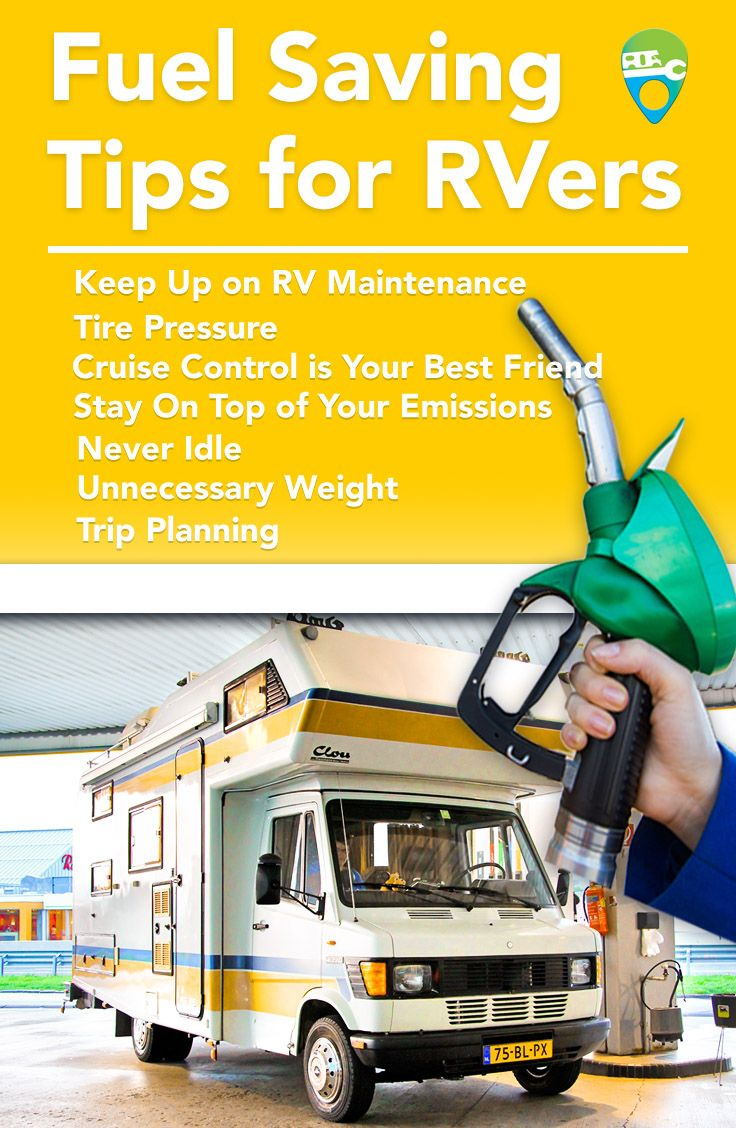 Save money on your road trips with these fuel saving tips from RV Repair Direct.