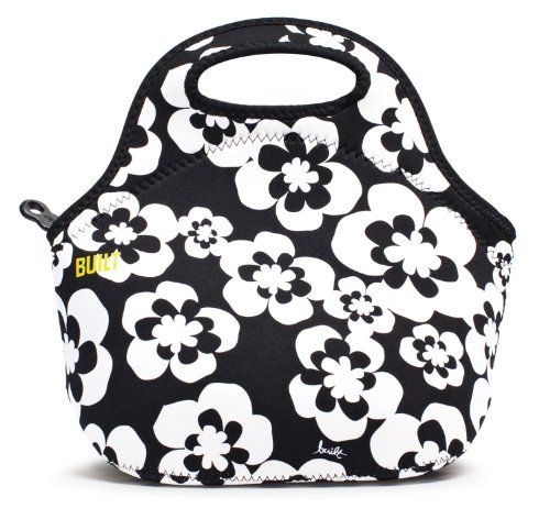 BUILT Neoprene Gourmet Getaway Lunch Tote, Summer Bloom (844983007621) Gourmet Getaway Lunch Tote Made of neoprene, the wetsuit material; vinyl and PVC free Summer Bloom pattern; soft-grip handles; sturdy zip closure; stores flat; insulates up to 4 hours Machine wash cold and drip-dry; stain resistant Measures 12 inches wide by 11-1/2 inches long by 6-3/4 inches deep