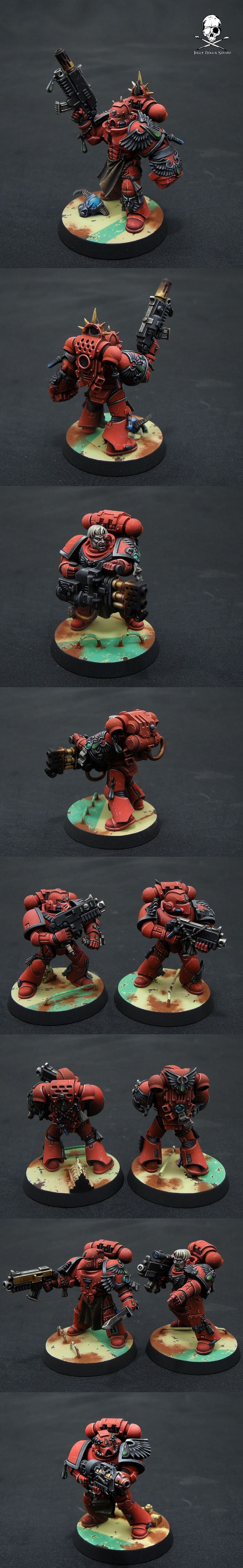 Hello New Space Marine squad. Larger bases are awesome, but I can imagine inconvenience on