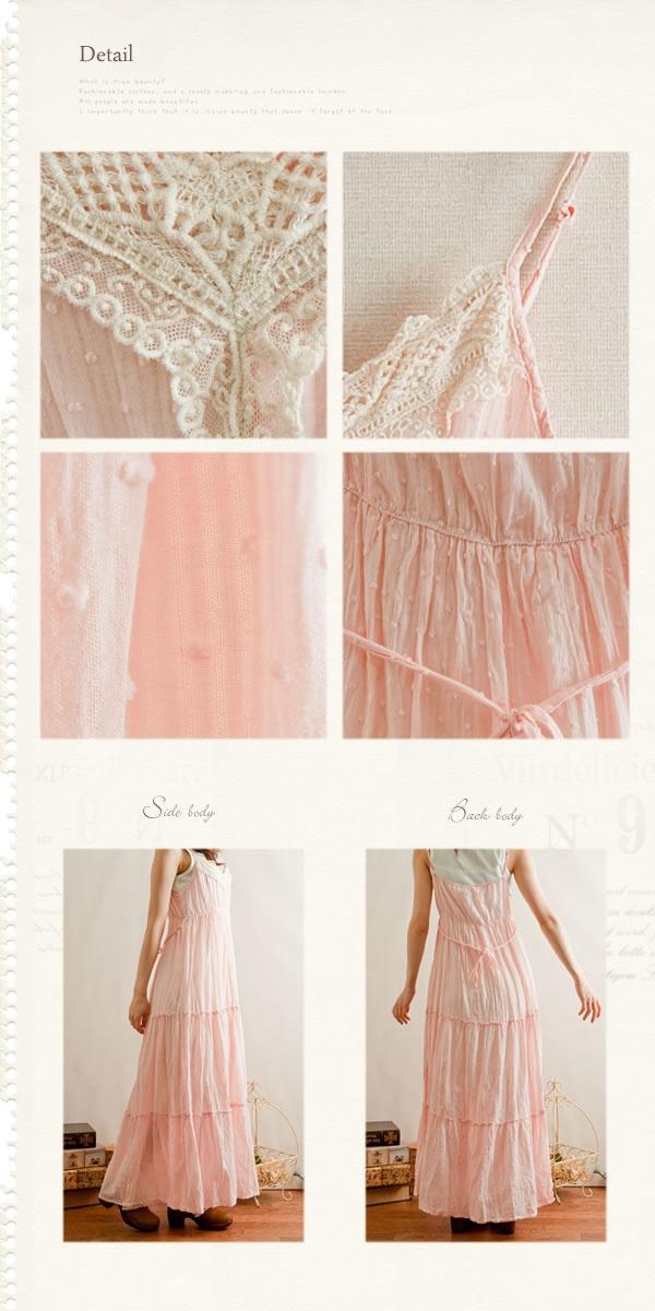 喜帛森女部落2012夏季新款森林系日系植绒浪漫吊带连衣裙长裙-淘宝网