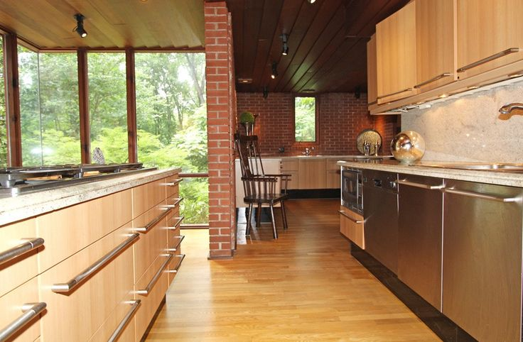 Image result for frank lloyd wright modern houses kitchens