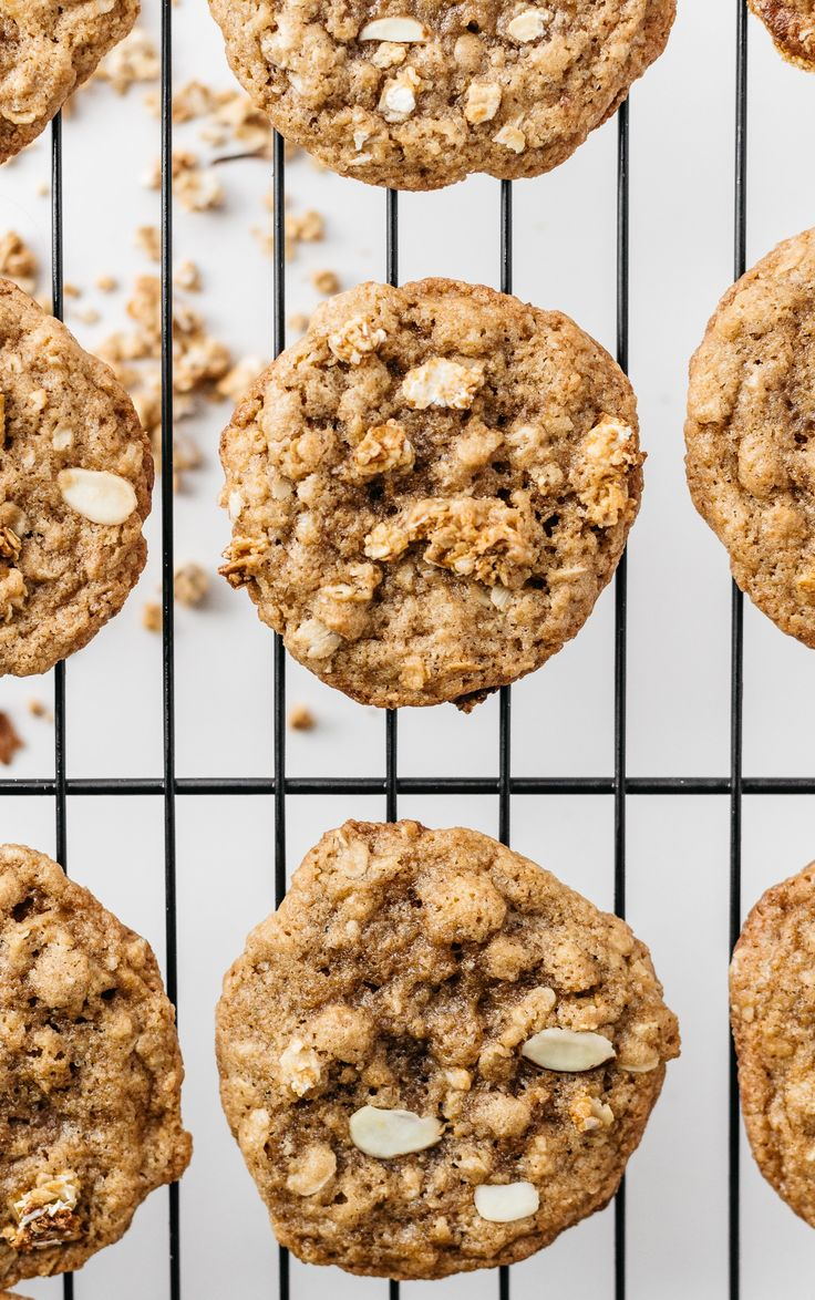 "Baked"" Oatmeal Cookies With Cardamom Recipe — Dishmaps"