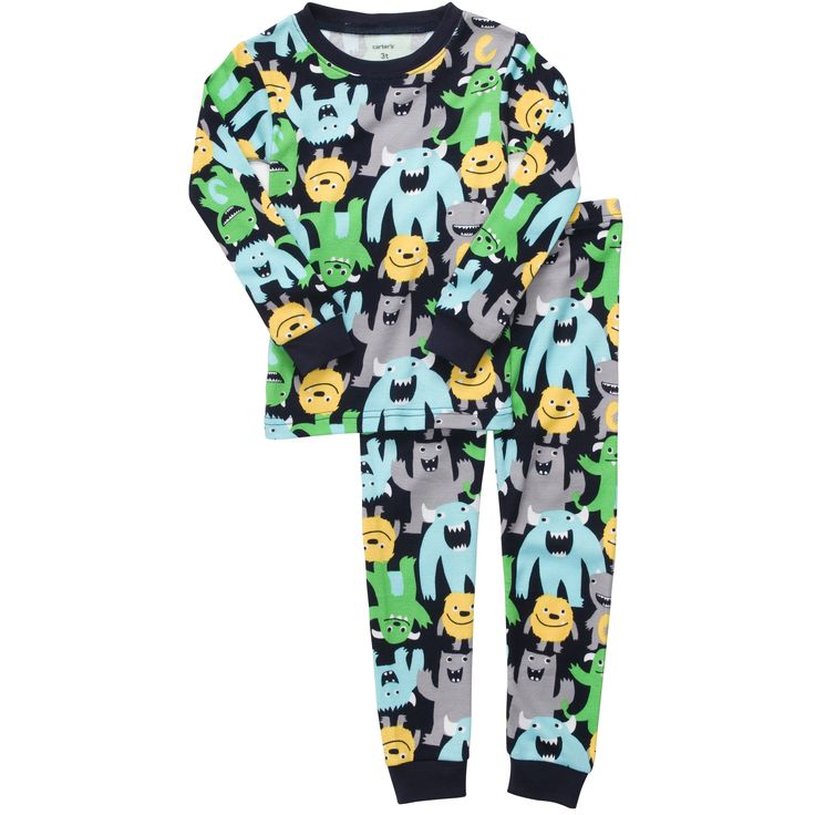 Snug Fit Cotton 2-Piece Pjs | Baby Boy Pajamas
