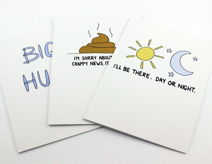 Condolence Cards, Post Love Designs