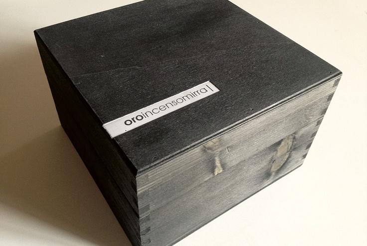 Progetto cassetta legno OROINCENSOMIRRA