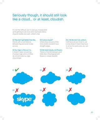 Skype Brand Book - The most beautiful and informative brand book I have seen to date.