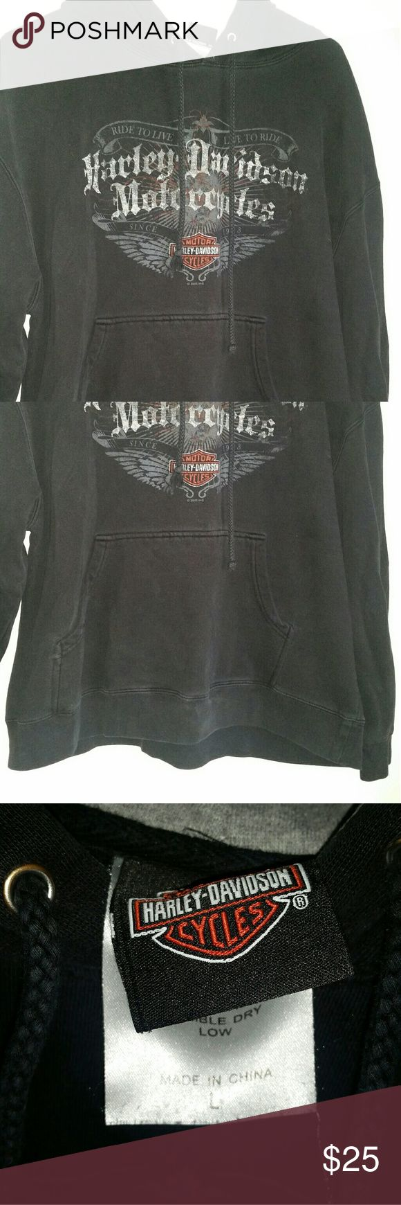 Harley Davidson Sweatshirt Really nice HD Sweatshirt. Little used but still great shape Harley-Davidson Tops Sweatshirts & Hoodies