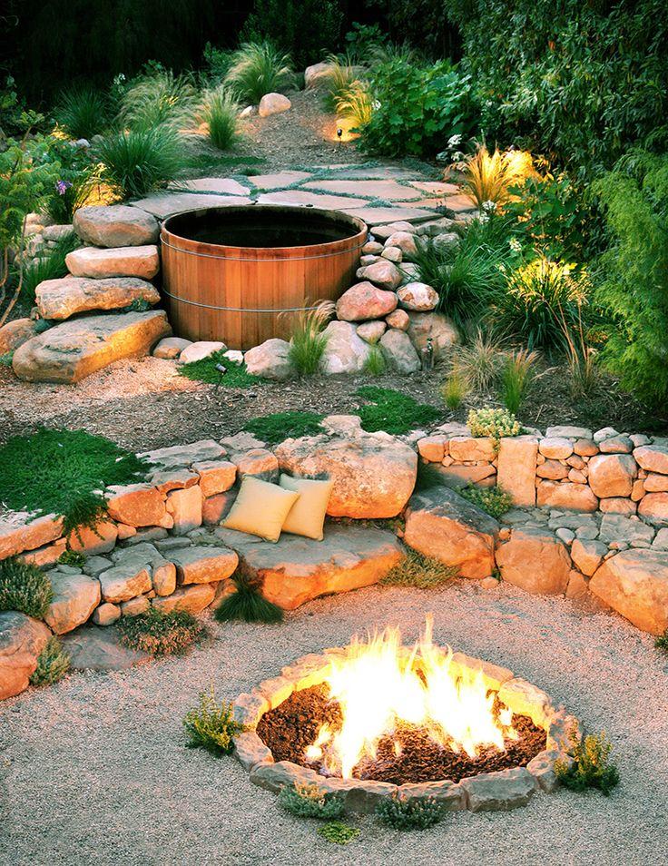 Light a campfire