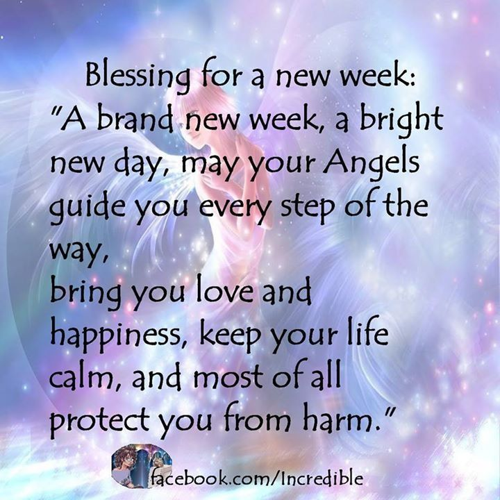 Blessings Quotes: Angels For A New Week