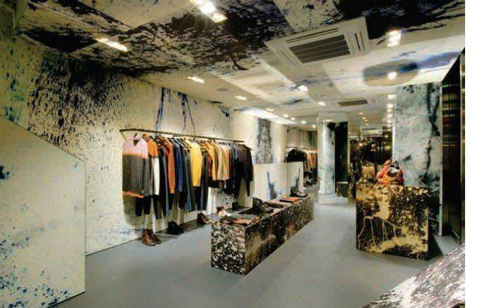 Raf Simons stores, Tokyo and Osaka | Fashion | Wallpaper* Magazine: design, interiors, architecture, fashion, art