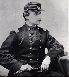 Colonel Robert Gould Shaw of the 54th Massachusetts Regiment Volunteer Infantry.