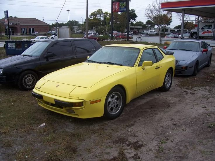 yellow porsche 944 s porsche pinterest. Black Bedroom Furniture Sets. Home Design Ideas