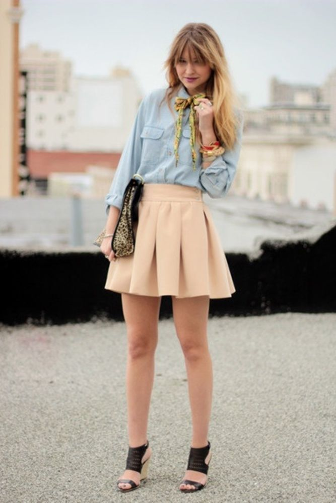 I need that skirt!!!