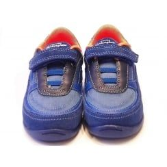 Boys Blue Casual Shoes - Lamborghini Race One Infant Blue Sports Trainer