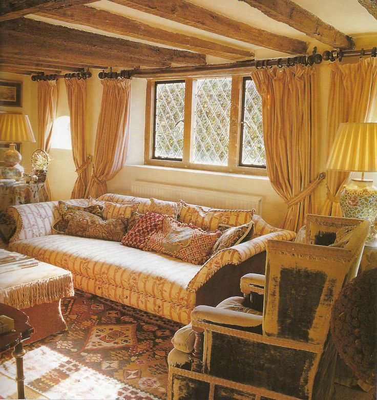467 Best Old English Country Cottage Images On Pinterest Living Room Interior Decorating And