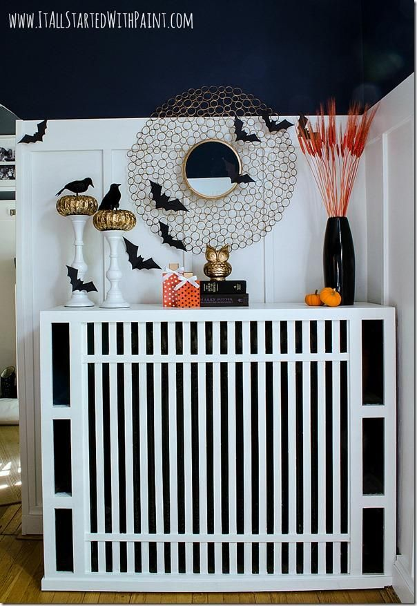 mantel decorations ideas inspirations halloween mantel