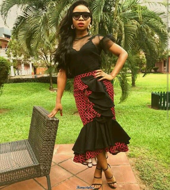 Short African Dresses and African Prints - Reny styles