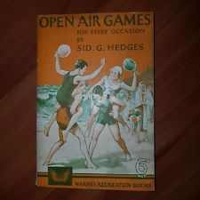 open-air games for every occasion by Sid g Hedges