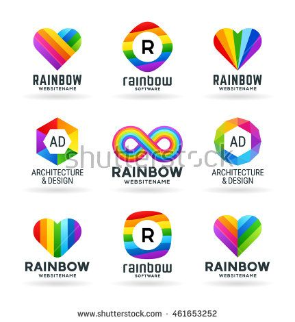 Image result for rainbow branding