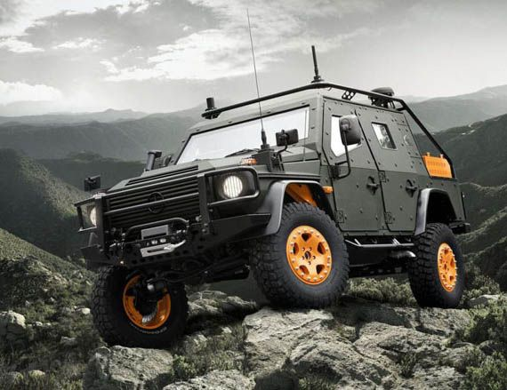 Mercedes G-Wagon LAPV 6.X Concept - this will be our go-to vehicle for driving up mountains or for use in case of zombie apocalypse