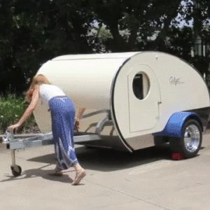 This charming teardrop called The Gidget Retro Teardrop Camper is quite unique as it is the only teardrop in the world that has a patented slide-out which converts the compact camper to almost double the internal space in one simple and quick action. The Australian team behind The Gidget wanted to create the best teardrop …