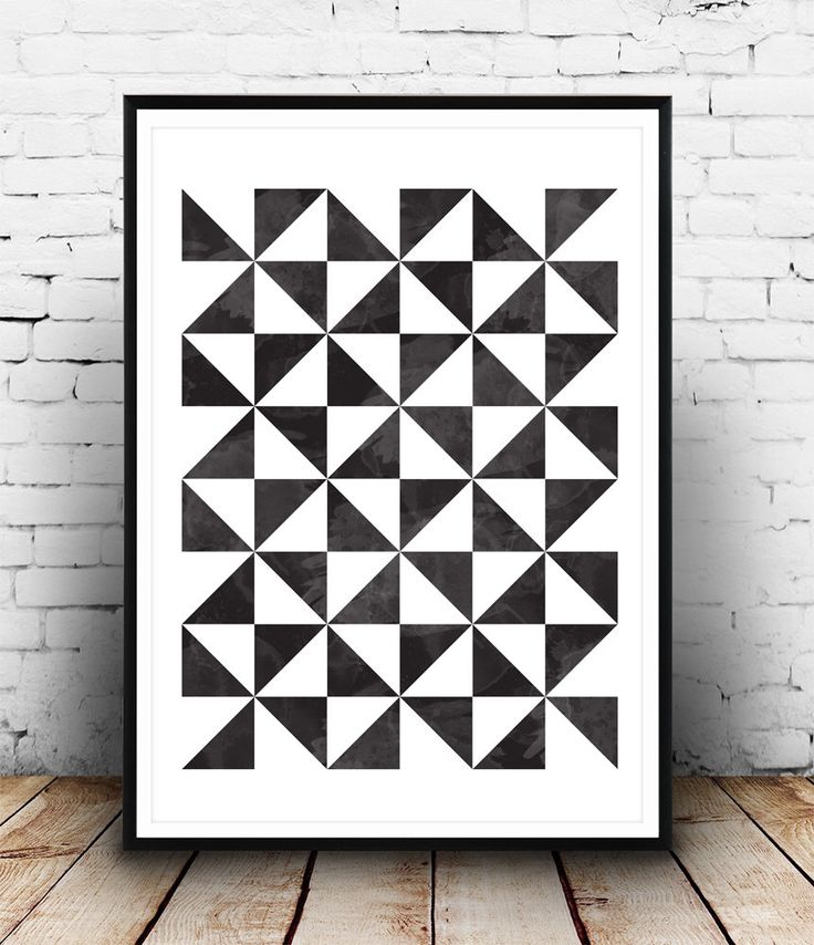 Geometric art print, Scandinavian print, Geometric poster, Abstract poster, Minimalist art, Black and white, Wall art, Print art, nordic art by Wallzilla on Etsy https://www.etsy.com/listing/219417107/geometric-art-print-scandinavian-print
