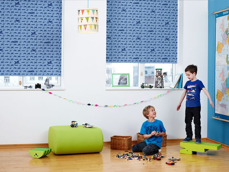 Rullegardin børneværelse