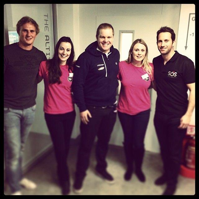 SOS UK Launch : Coxless Crew | Pacific Ocean Row 2014