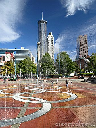 Atlanta, GA.... I stayed in the Peachtree Plaza...back in the day to and from going to England..great memories!