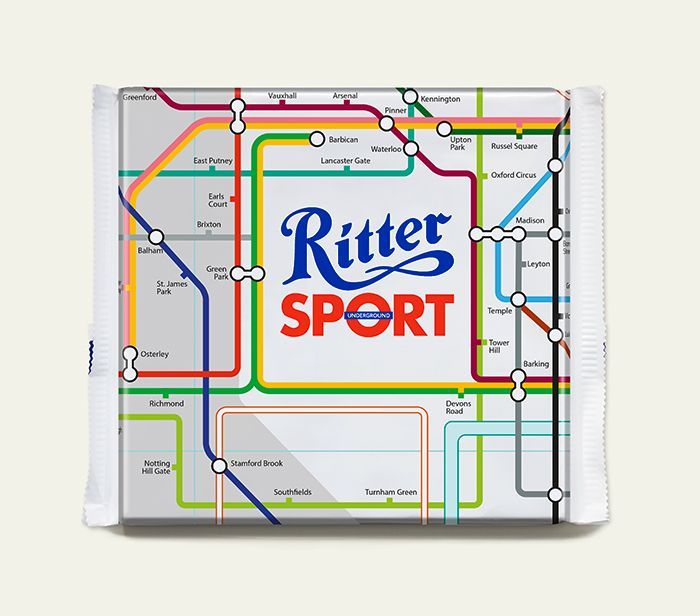 Ritter Sport – Underground Map